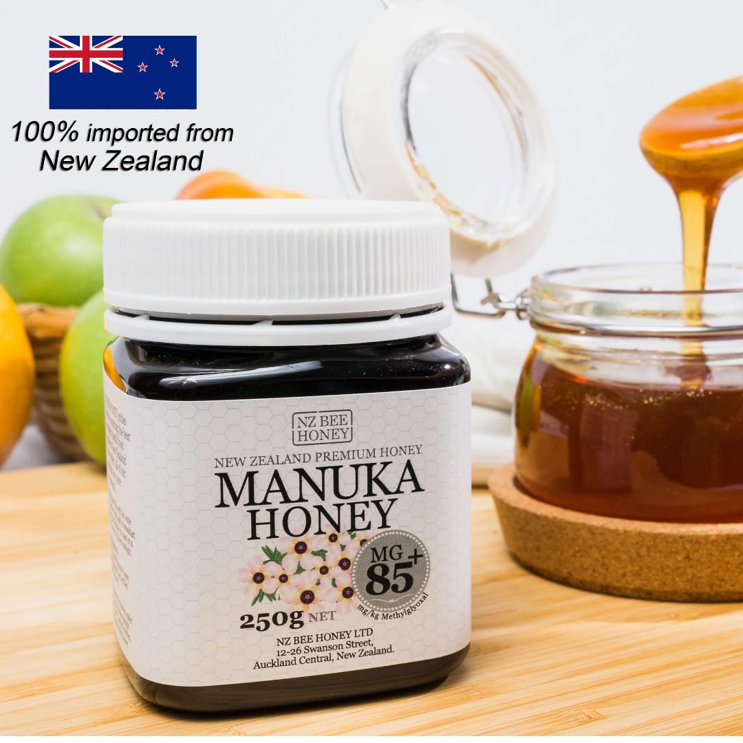 NZ BEE HONEY - MANUKA HONEY MG85+