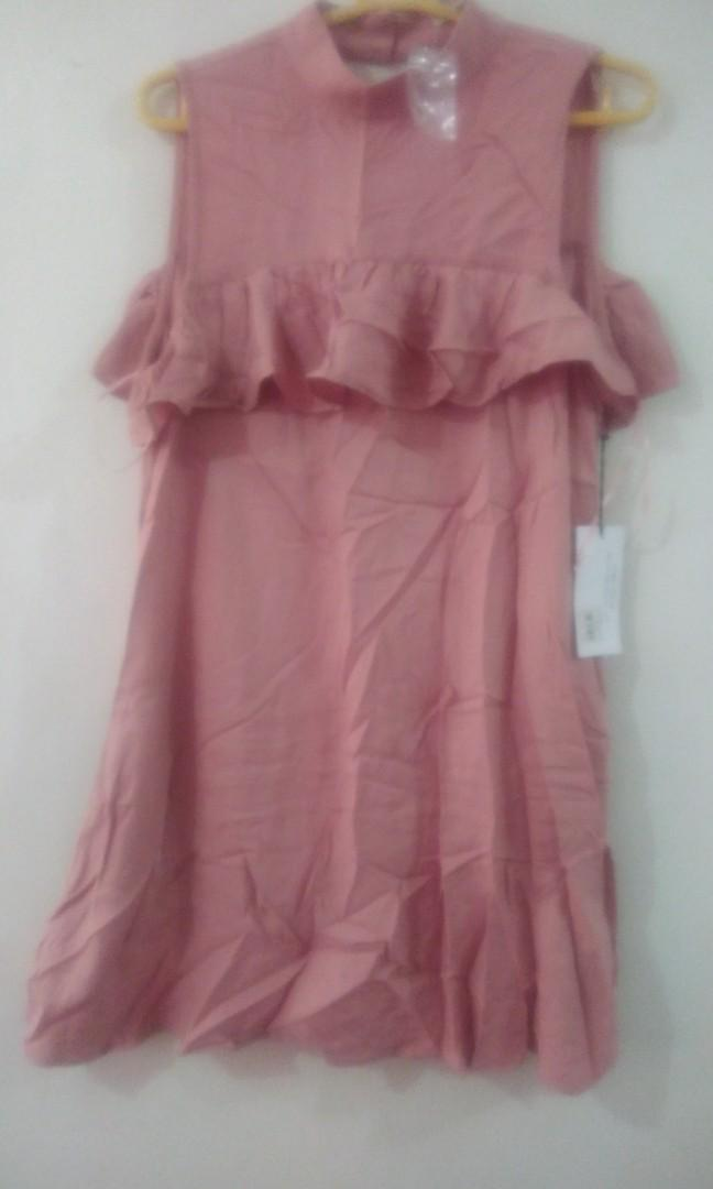 Old rose dress brand new w/ tagN