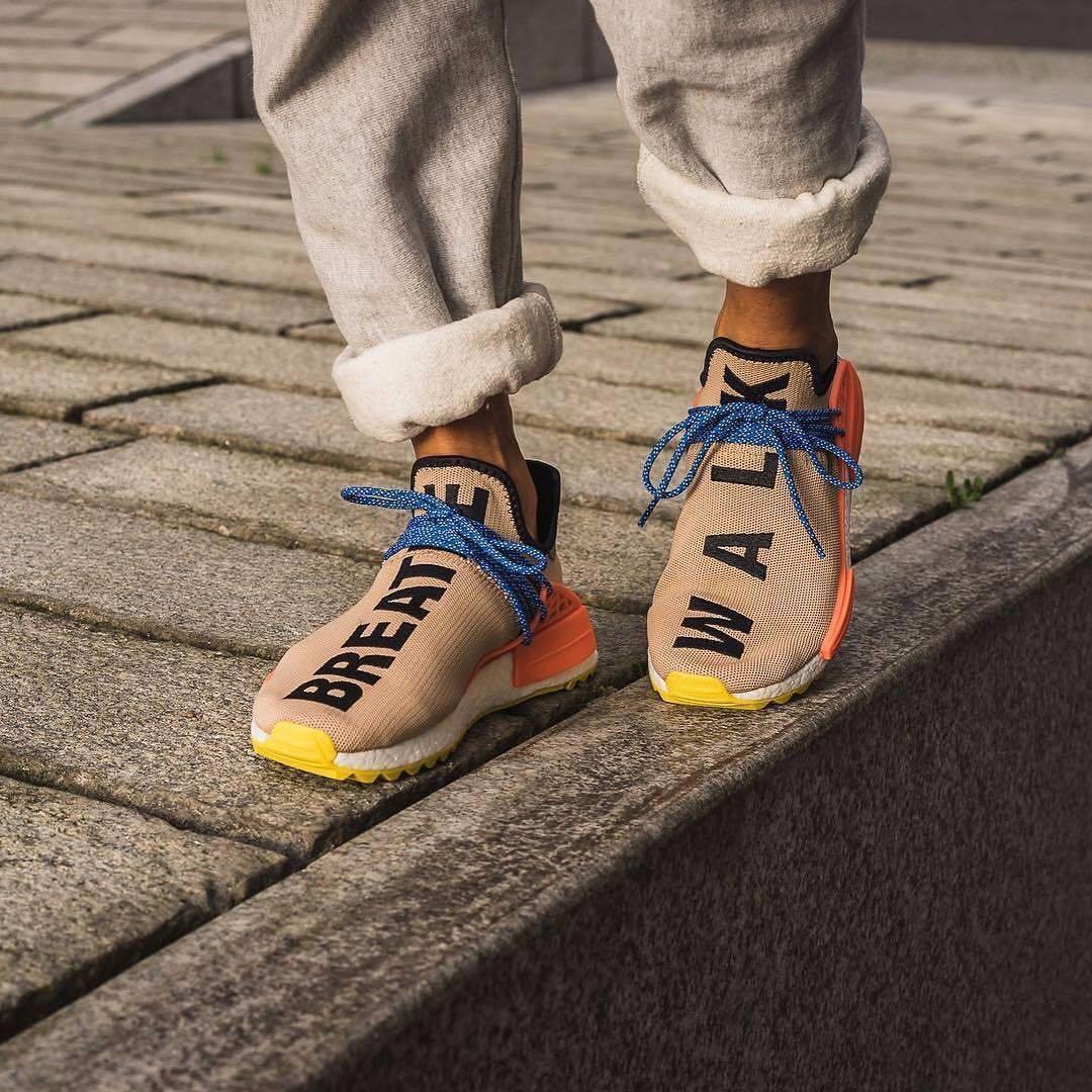 35cba5b1e368 Pharrell Williams x Adidas Human Race NMD Trail Pale Nude