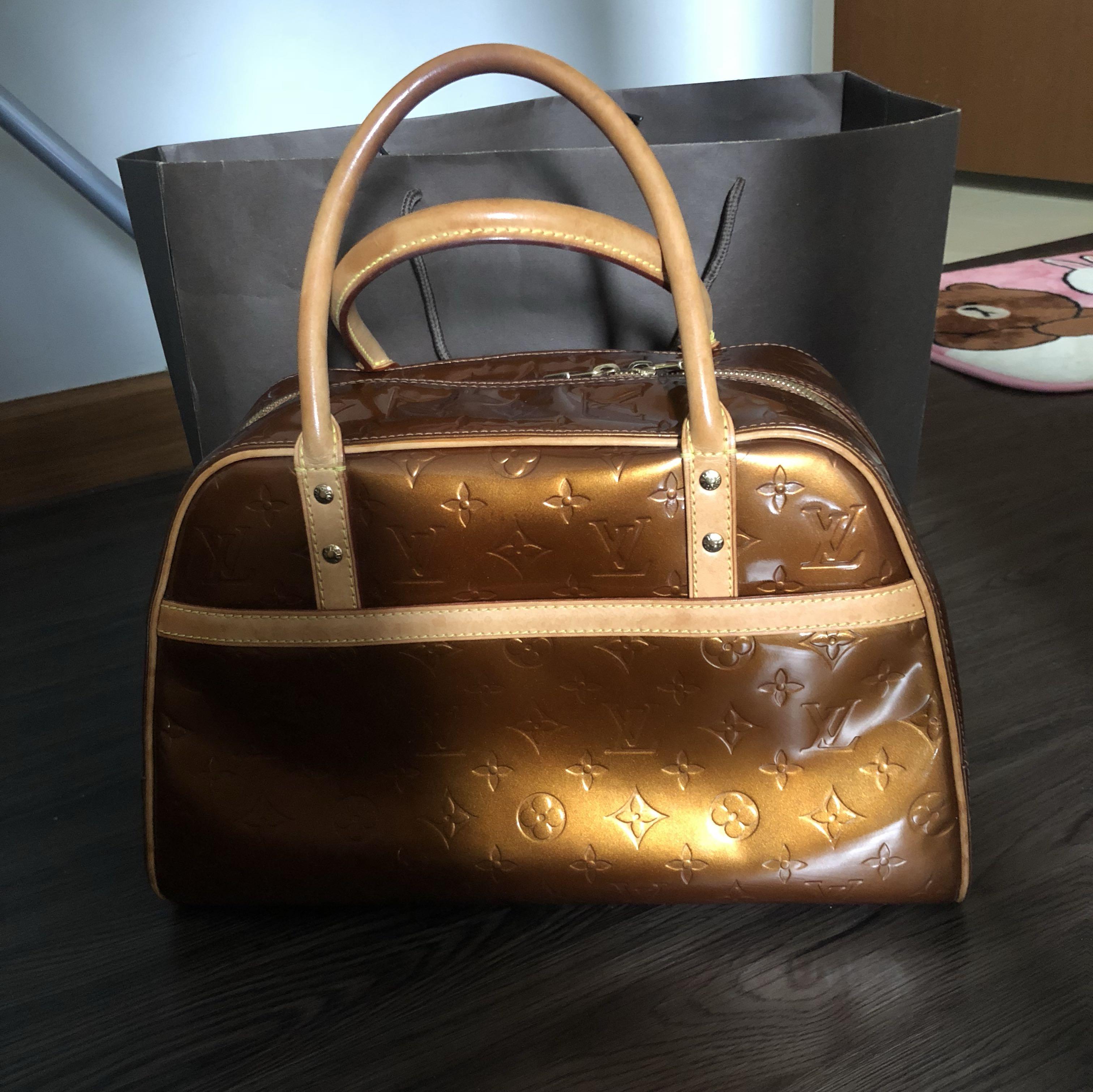 Preloved Louis Vuitton LV Bag in bronze d36e235faffad