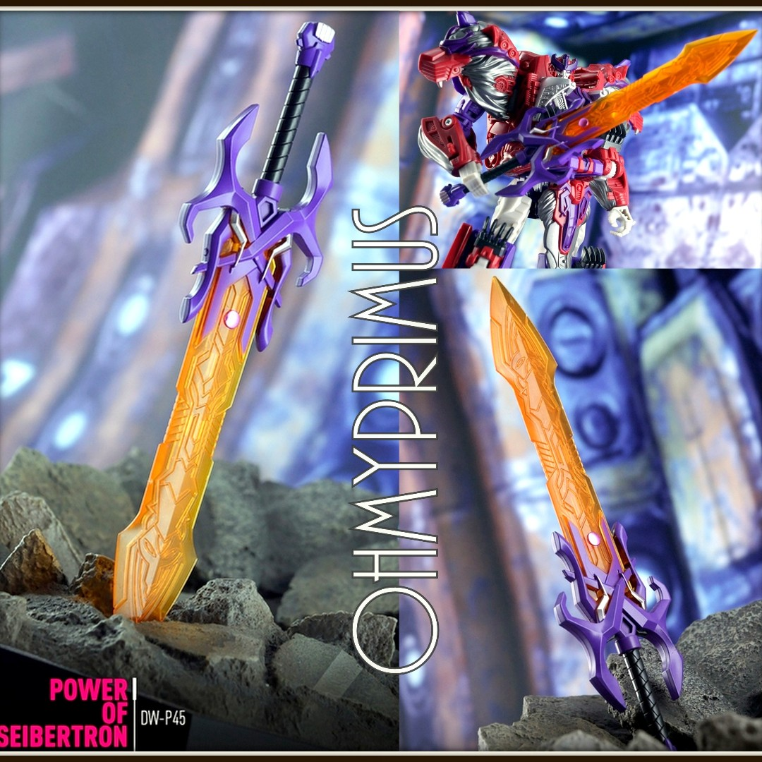Hot Dr.Wu DW P-45 Alpha Trion Power of Seibertron Sword in stock