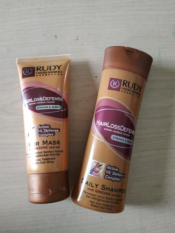 RUDY HADISUWARNO HAIR LOSS DEFENSE SHAMPOO   HAIR MASK dd9d43e5c5