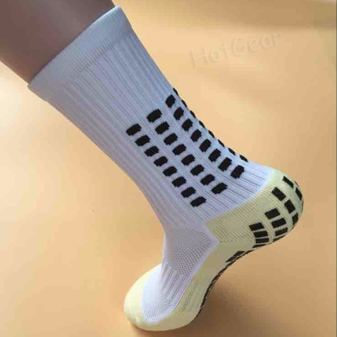Underwear & Sleepwears Anti Slip Mens Football Socks Soccer Sports Running Long Stockings Leg Compression Stretch Knee High Thick Cotton Socks