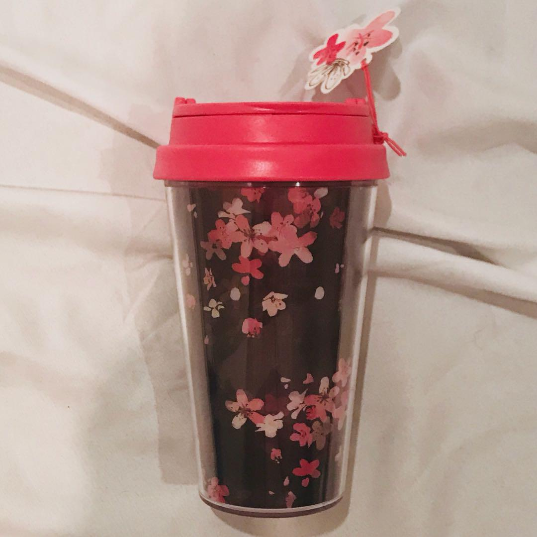 Starbucks floral tumbler water bottle