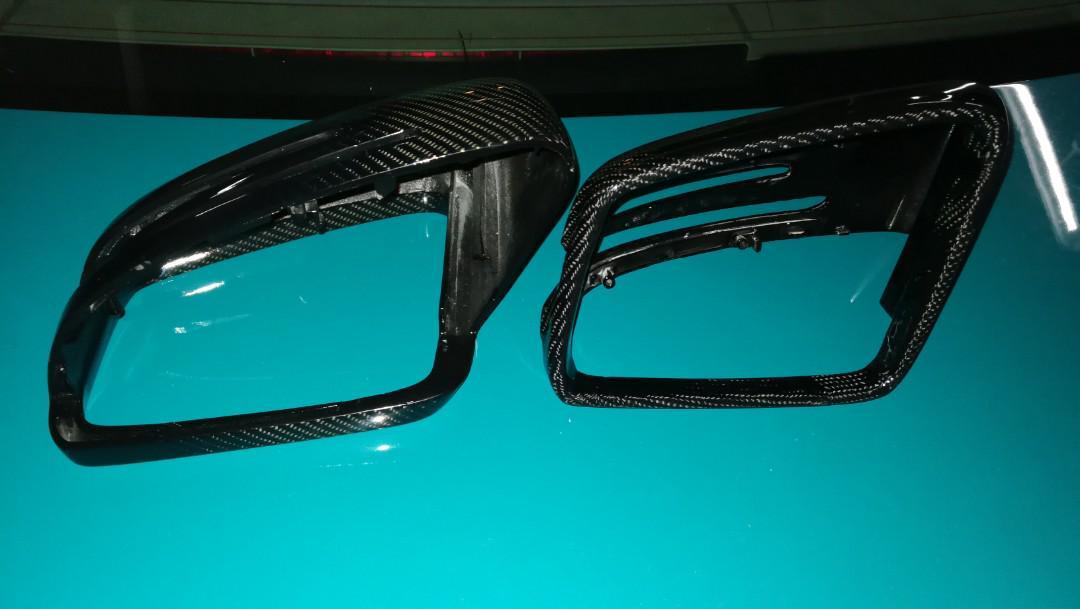 W204 carbon fibre side mirror