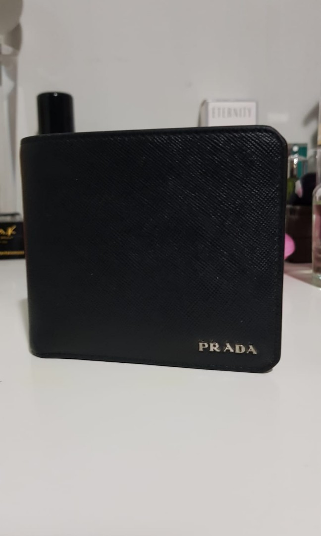 7d484b9807 WTS Authentic Prada Mens Wallet