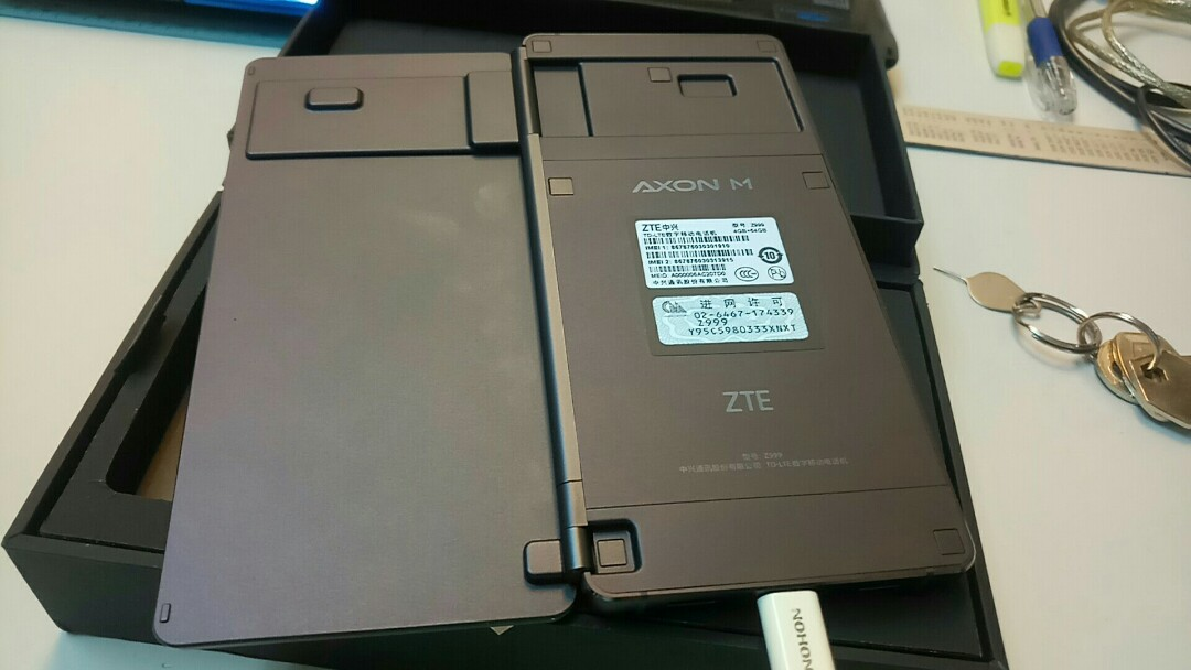 Zte axon M, Mobile Phones & Tablets, Android Phones, Others