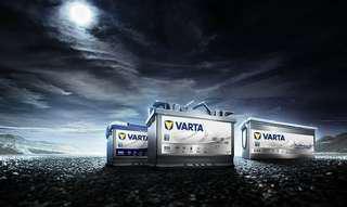 Varta 銀頂/ EFB/ AGM 汽車電池