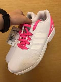 Adidas ZX FLUX W 白粉