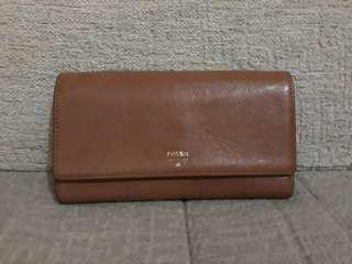 Flap brown Fossil