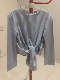 RIBBON LONGSLEEVE TOP