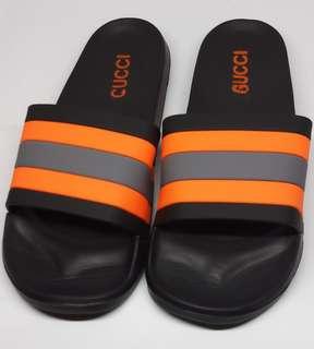 c8278ced74cf Gucci Slippers - Black Orange (OEM)