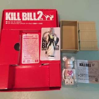 Medicom Toy 2004 Kill Bil 2 DVD 贈品 - 匙扣 & 棺材 Bearbrick set