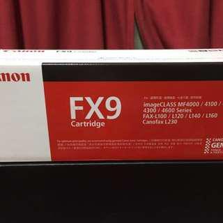 🚚 CANON CRG-FX-9 原廠黑色碳粉匣