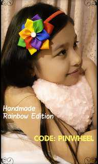 Handmade's Pinwheel (Rainbow Edition)