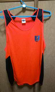 ARMY HR FORMATION BRIGHT ORANGE VEST / SINGLET