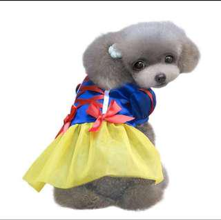Snow White Pets Dogs Cats Costumes Clothes