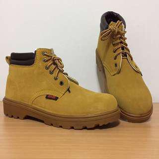 Yellow Khaki Boots