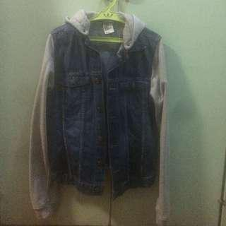H&M &Denim Gray Jacket