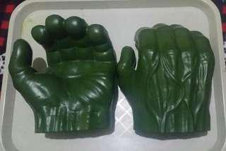 Hulk Smash Hand Gloves