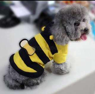 Bumble Bee Pets Dogs Cats Costumes Clothes