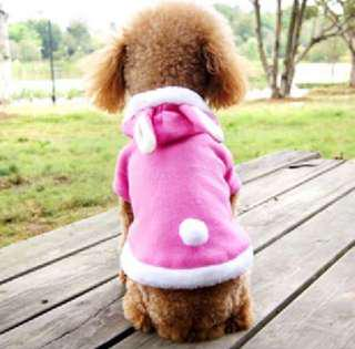 Pink Bunny Pets Dogs Cats Costumes Clothes