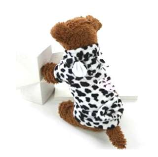Leopard Pets Dogs Cats Costumes Clothes