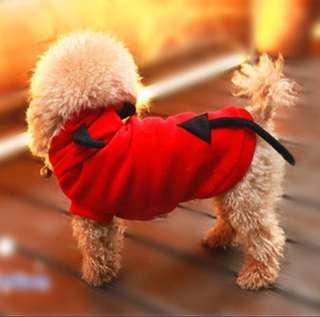 Little Devil Pets Dogs Cats Costumes Clothes