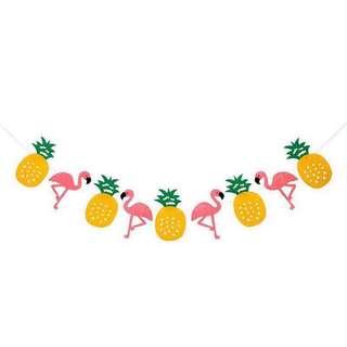 Pineapple and Flamingo Garlands