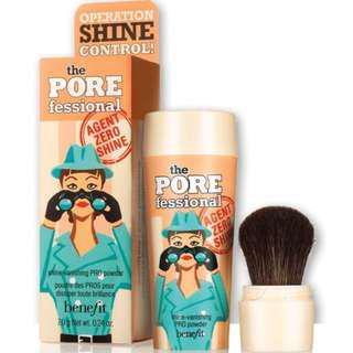 benefit the Professional agent zero shine Pro powder