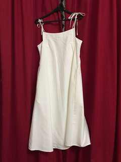 Love Bonito Midi White Dress