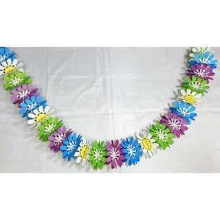 Take All 17pcs Flower Garland/Banner