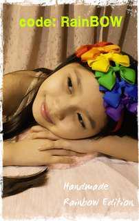 Handmade's RainBOW Headband