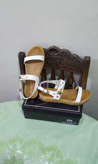 Michaela White Sandals size 39