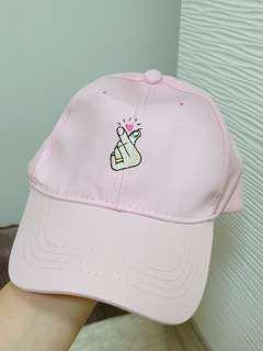 Ulzzang Light pink Cap