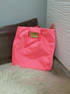 Victoria's Secret Nylon Neon Pink Sling Bag