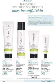 Clearproof Acne System Set ( promo for aug )