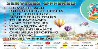 Domestic and International Tickets