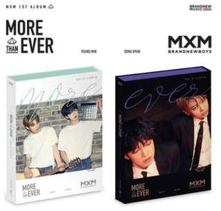 MXM More Than Ever Album
