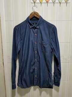 Cotton On 牛仔恤衫 denim shirt size S