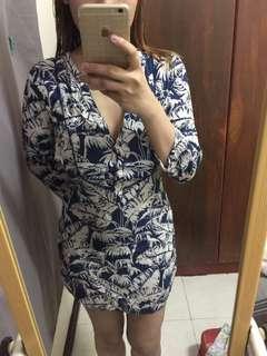 longsleve dress slightly used