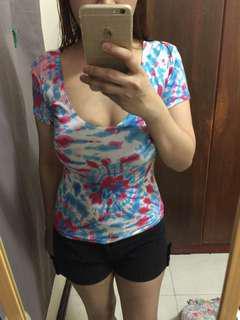 scoop blouse