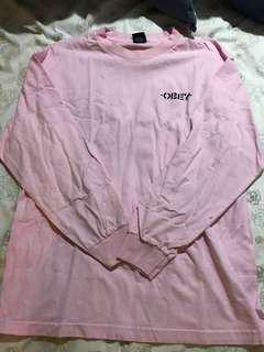 Pink Obey Longsleeve LARGE