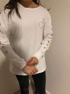 RPM white long sleeve
