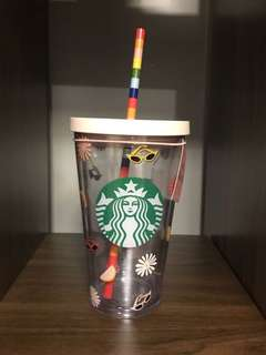Starbucks X ban.do Icons Cold Cup, 16oz