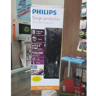 Philips Surge Protector With Cable Management