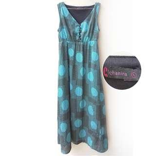 Chanira Silk Tosca Long Dress