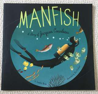 Manfish Picture Book for 6-9 year old
