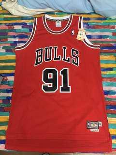 NBA 芝加哥公牛球衣(全新未剪牌)