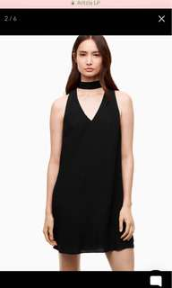 Aritzia Ethere Dress in Black Size Small